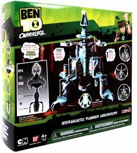 Ben 10 Intergalactic Plumber Laboratory Section 1 from Ben 10