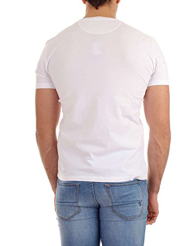 Woolrich Uomo Shirt L T Optic White Wotee1130 xqw1zT