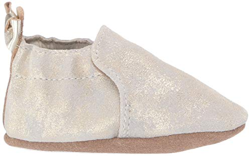Robeez Girls' Soft Soles with Bow Back Slip-On