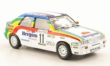 Renault 11 Turbo, No.11, Hergom, Rally Catalunya , 1987, Modelo de Auto, modello completo, SpecialC.-44 1:43: Amazon.es: Juguetes y juegos