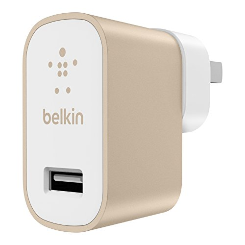 Belkin MIXIT Metallic Micro USB Home and Wall Charger , Gold