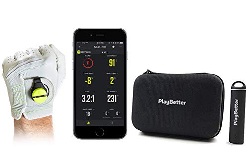 PlayBetter Zepp Golf 2 Kit Power Bundle | Includes Portable Charger & PlayBetter Protective Hard Case | Smart Coach Training System | Swing Analyzer | Auto-Video Capture