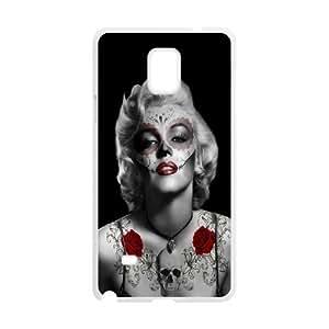 Skull Marilyn Monroe Popular Case for Samsung Galaxy Note 4, Hot Sale Skull Marilyn Monroe Case