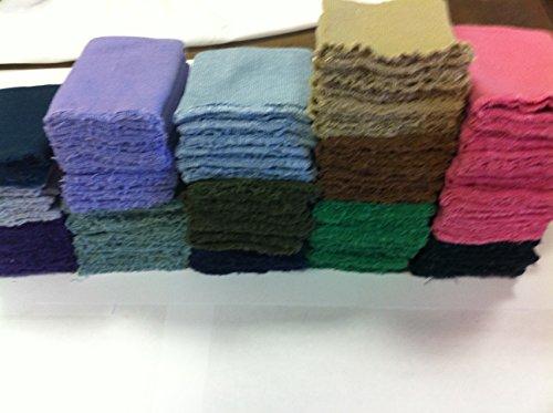 Knit Knitted Cuff Rib Knit Fabric Cuff Assorted Colors