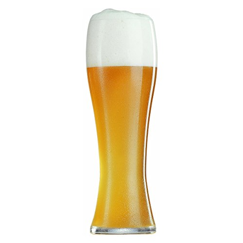 Spiegelau Beer Classics Non-Leaded Crystal Wheat Glass, Set of 6 by Spiegelau