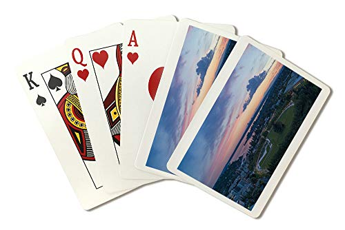 (Bellevue Park, Washington Aerial Photograph A-91506 (Playing Card Deck - 52 Card Poker Size with Jokers))