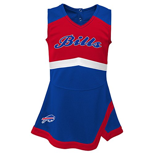Captain Buffalo - Outerstuff NFL NFL Buffalo Bills Infant Cheer Captain Jumper Dress Royal, 18 Months
