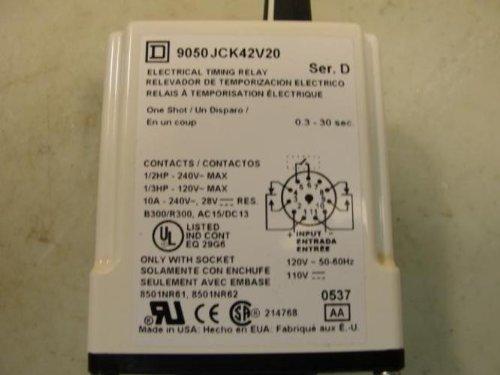 Time Delay Rlay, 120VAC, 10A, DPDT, 1.2 Sec.