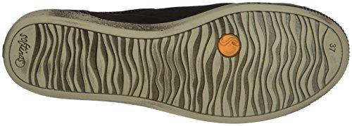 Brown Sneaker Isla Smooth dk Donna Marrone 550 Softinos 4O7YqwAq