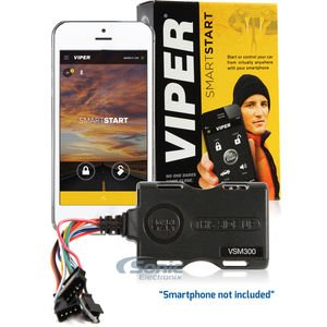 Price comparison product image Viper VSM300 (CDMA) Add-On SmartStart for Apple/Android Smartphone/Smartwatch