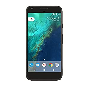 Google Pixel XL (128GB, 4GB RAM) 5.5″ AMOLED HD Display, Global 4G LTE US Factory Unlocked Model (GSM, Verizon, Sprint) – Quite Black