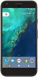 "Google Pixel XL (128GB, 4GB RAM) 5.5"" AMOLED HD Display, Global 4G LTE US Factory Unlocked Model (GSM, Verizon, Sprint) - Quite Black"