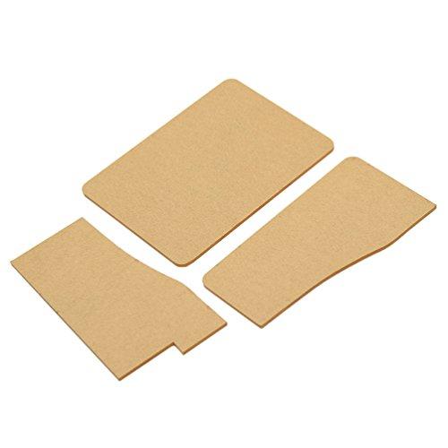 Vintage Card Holder Leathercraft Pattern Acrylic Kraft Paper Leather Template (Kraft Acrylic)
