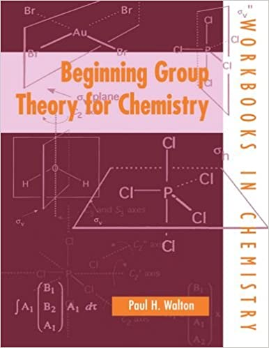 Book Beginning Group Theory For Chemistry (Workbooks in Chemistry)