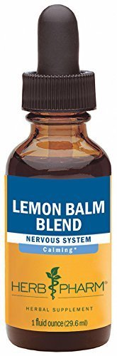 Herb Pharm Lemon Balm Blend Extract Mineral Supplement, 1 Ounce by Herb Pharm - Pharms Lemon Balm