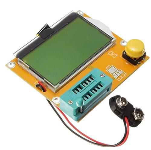 ZUOYA 1PCS Mega328 M328 LCR-T4 12846 LCD Digital Transistor Tester Meter Backlight Diode Triode Capacitance ESR Meter MOS/PNP/NPN L/C/R
