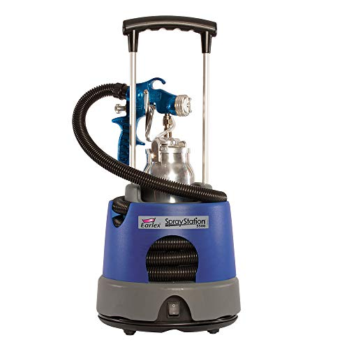 Earlex HV5500 HVLP Spray Station Paint Sprayer, Designed for serious woodworking, light contractor and automotive enthusiasts, achieve the perfect finish, 5500