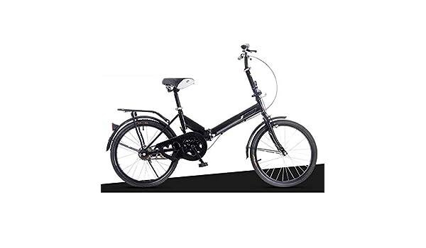 Bicicleta Plegable Unisex De 6 Velocidades, Bicicleta Urbana ...