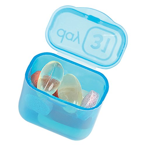 Easy Open 31 Day Pop-Out Compartment Pill Organizer