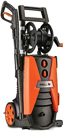 iBELL Wind 260 Induction Motor 2600-Watt Home and Car Pressure Washer (Black & Orange)