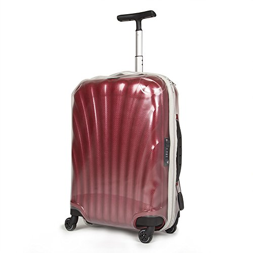 Funda protectora de equipaje para Samsonite Cosmolite Spinner PVC Transparente Clear Travel Suitcase Trolley Case Cover Protector: Amazon.es: Equipaje