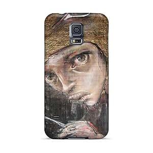 Shock Absorption Hard Phone Cover For Samsung Galaxy S5 (jSz1042bNHd) Allow Personal Design Beautiful Herakut Skin