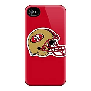 Cases Covers For Iphone 4/4s Strong Protect Cases - Super Bowl 2013 San Francisco 49ers Design