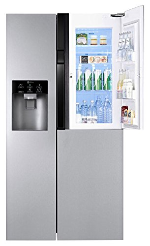 LG 659 L In Frost-Free Multi-Door Refrigerator (GC-J237JSNV, Noble Steel)