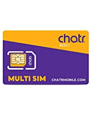 chatr Prepaid Multi SIM Card 3-in-1 Canada | Affordable Mobile Plans. No Commitments. No Surprise Charges.