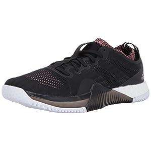adidas Performance Women's Shoes   Crazytrain Elite Cross-Trainer, Black/Tech Silver/Tactile Rose, (7 M US)