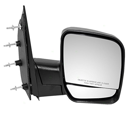 - Passengers Manual Side View Mirror Dual Glass Paddle Type Replacement for Ford Van 3C2Z17682FAA AutoAndArt