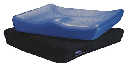 Invacare Comfort-Mate Extra Foam Wheelchair Cushion, 18 in X 16 in