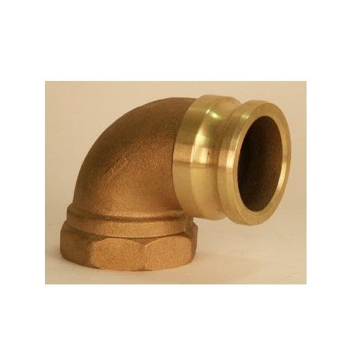 Ever-Tite (APG) 330A90BR, 90 Deg Part A. Male Adapter X Female Thread. Brass by Ever-Tite