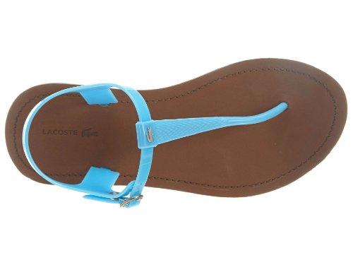 Lacoste Sandal Blue M 9 Women's Fluro Luzerne rqw0Hpr