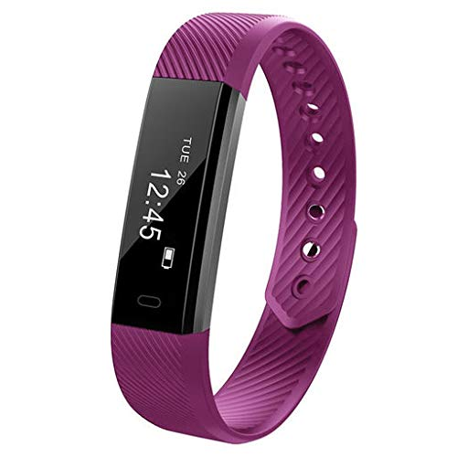 Redvive Top Bluetooth Smart Watch Bracelet Wristband Pedometer Sport Fitness Tracker ID115 ()