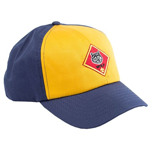 Cub Scout Wolf Cap / Hat - Official BSA Uniform Apparel (Small / Medium)