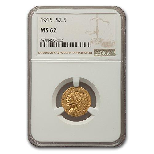 ld Quarter Eagle MS-62 NGC $2.50 MS-62 NGC (Gold Quarter Eagle)