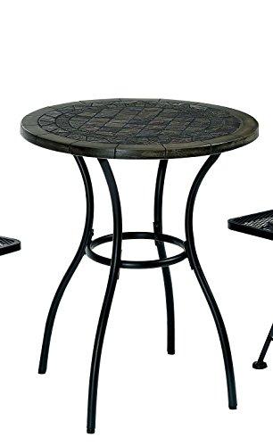 Furniture of America Solaro Mosaic Design Outdoor Table, ...