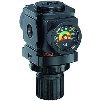 New Mini Air Pressure Regulator 1 4 Quot W Free Gauge Air