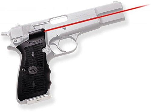 Crimson Trace Lasergrip for Browning Hi-Power, Black
