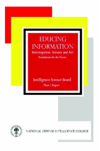 Educing Information: Interrogation Science And Art