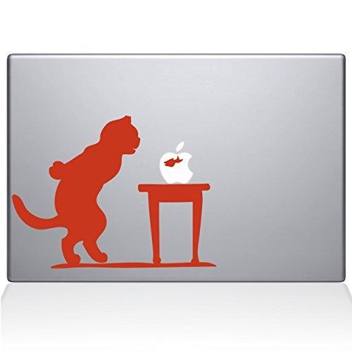 2019年秋冬新作 The Decal Guru 1035-MAC-13A-P Cat 1035-MAC-13A-P and Fish Bowl 13 Vinyl Air Sticker 13 Macbook Air Orange [並行輸入品] B0789BSHNY, 上石津町:3de04eec --- senas.4x4.lt