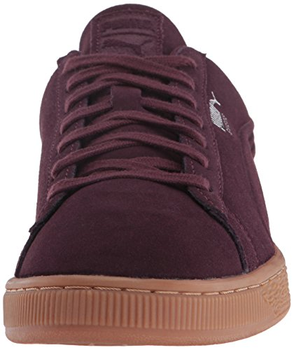 Lilac Winetasting Classic Sneaker 10 Snow M Mens Debossing US Suede q4 Fashion qAppT0w