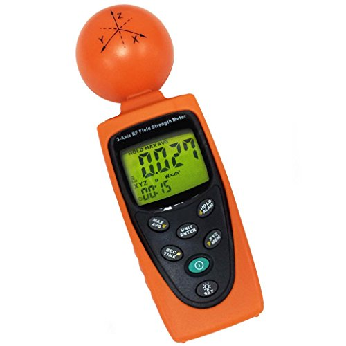 Digital 3 AXIS EMF RF Radiation ElectroSmog Meter