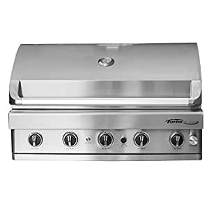 2017 Turbo Elite 5-Burner Built-In Gas Grill - Natural Gas