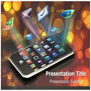 Mobile Apps PowerPoint Template - Mobile Apps Powerpoint (PPT) Backgrounds Templates