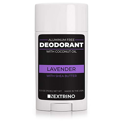 All Natural Aluminum Free Deodorant - Made in the USA with Coconut Oil & Essential Oils for Women and Men - Vegan, Non-GMO & Organic Ingredients