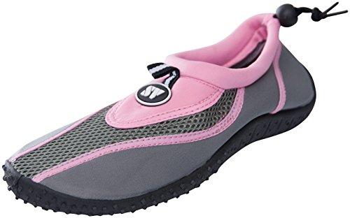 Starbay Bay Dames Slip Op Atletische Aqua Sokken Waterschoenen 2907-1 Roze