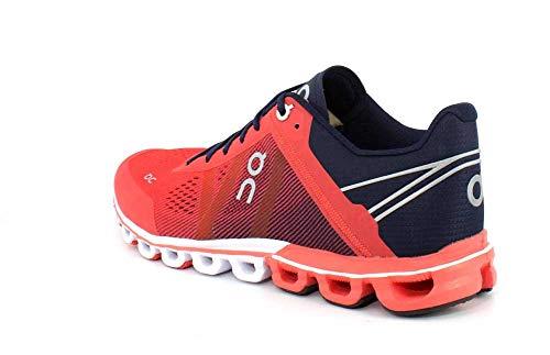 Crimson Sneaker Running Woman Flow Rosso On w8xa66