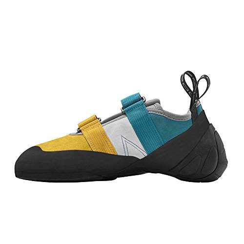 Image of Mad Rock Madrock Climbing Shoes Agama (6.5 D(M) US, Teal/Yellow)